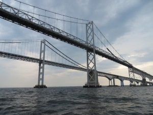 GOING UNDER THE BAY BRIDGE