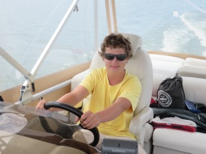 ZAN  AT THE HELM